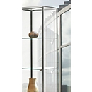 Led-railverlichting voor BST vitrines met aluminium profiel, 5 spots, 5x 4,5 W power-leds