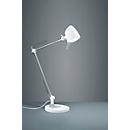 LED-Tischleuchte Rado, Touch-Dimmer 4-fach, höhenverstellbar, weiß