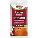 Leder-Feuchttücher POLIBOY, reinigend & pflegend, farbauffrischend, hautverträglich, PEFC, 20 Stück