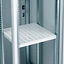 """Legbord (19""""), voor serverkast, vaste inbouw, 500 mm diep, ventilatiegleuf"""