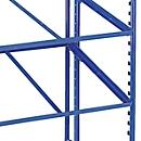 Legbord met stalen frame voor Euro-containerwagen, 820 x 620 mm