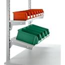 Legborden met aanslaglijst voor werktafel PLANTEC WORK, 800 x 260 mm