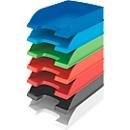 LEITZ® Ablagekorb Standard 5227, Kunststoff, 5 Stück, rot