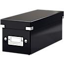 LEITZ® CD Ablagebox Serie Click + Store, schwarz