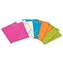 LEITZ® elastomap WOW, A4, 3 flappen, parelwit
