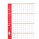 LEITZ® Karton Register, zur freien Verwendung, mit Rasteraufdruck
