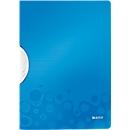 LEITZ® klemmap ColorClip WOW, A4, PP, met clip, blauw
