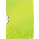 LEITZ® Klemmmappe ColorClip WOW, DIN A4, PP, mit Clip, grün