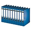 LEITZ® Ordner 1007/1008, DIN A4, Rückenbreite 52 mm, 10 Stück, blau