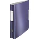 LEITZ® Ordner Active Style, DIN A4, Rückenbreite 65 mm, titan blau