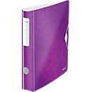 LEITZ® Ordner Active WOW, DIN A4, Rückenbreite 65 mm, 5 Stück, violett