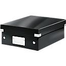 LEITZ® organisatiebox Click + Store, klein, zwart