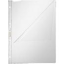 LEITZ Prospekthülle 4744, DIN A4, oben und links offen, 10 Stück, glasklar, transparent