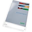 LEITZ Prospekthülle Maxi Standard, DIN A4, seitlich offen, 5 Stück
