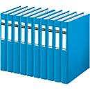 LEITZ® Ringbuch 4210, DIN A4, 2-Ring-Mechanik, Rückenbreite 40 mm, 10 Stück, hellblau