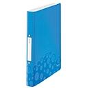 LEITZ® Ringbuch Active Wow, DIN A4, 2D-Ring-Mechanik, Rückenbreite 32 mm, blau