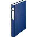 LEITZ® ringmap, A4, 2-voudig ringmechanisme, rugbreedte 40 mm, blauw