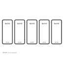 Leitz® Rückenschild WOW/Style, Rückenbreite 80 mm, selbstklebend, 50 Stück