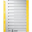 LEITZ® scheidingsbladen A4 1652, gebruik naar eigen inzicht, 100 stuks, geel