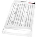 LEITZ® Sichthülle Maxi, DIN A4, genarbt, 5 Stück