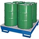 Lekbak WG 24, voor 4 x 200 l vaten, gelakt