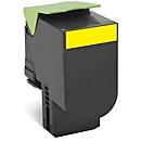 Lexmark 80C2HY0 Toner gelb, original
