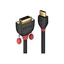 Lindy Black Line Videokabel - HDMI / DVI - 2 m