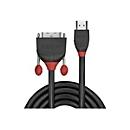 Lindy Black Line Videokabel - HDMI / DVI - 50 cm