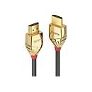 Lindy Gold Line Standart with Ethernet - HDMI mit Ethernetkabel - 15 m
