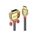 Lindy Gold Line Videokabel - HDMI / DVI - 10 m