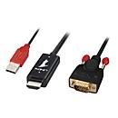 Lindy Kabel HDMI an VGA - Videokonverter - Schwarz