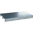 Lochblech-Rost für Kleingebindewanne im Euro-Paletten-Maß, 600 x 400 x 120 mm
