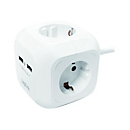 LogiLink Power Cube - Verlängerungsschnur - 3680 Watt