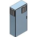 Lufterhitzer, explosionsgeschützt, Ausführung für aktive/passive Lagerung entzündbarer Stoffe