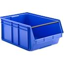 Magazijnbak met draagstang SSI Schäfer LF 14/7, polypropeen, L 715 x B 470 x H 300 mm, 74 l, blauw