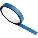 Magneetband, B 15 mm, 5 m/rol blauw