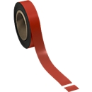 Magnetband, hellrot, 30 x 10000 mm