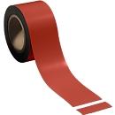 Magnetband, hellrot, 70 x 10000 mm
