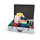 magnetoplan® Seminar-Koffer, inkl. 3100-tlg. Set, Aluminium, verschließbar, mit Trageriemen