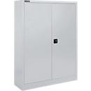 Materialschrank SSI Schäfer MSI 16409, B 950 x T 400 x H 1535 mm, 3 Böden, Stahl, weißaluminium RAL 9006