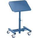 Materialständer, fahrbar, manuell, Höhenverstellung 505-775 mm