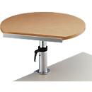 MAUL ergonomische tafelstandaard, serie 930, beuken