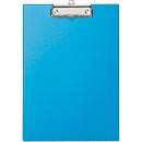 MAUL Klemmbrett, DIN A4, Karton/Polypropylen, mit Aufhängeöse, hellblau