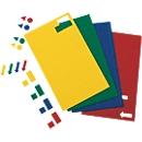 MAUL magneetsymbolen driehoek, 180 stuks, geel