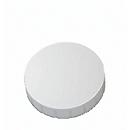 MAUL Solidmagnete, ø 32 x 8,5 mm, 10 Stück, weiß