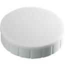 MAUL solidmagneten, Ø 20 x 7,5 mm, 10 stuks, wit