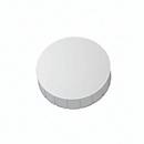 MAUL solidmagneten, Ø 38 x 15,5 mm, 10 stuks, wit