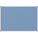 MAULstandard Pinboard, Textil, 600 x 900 mm, hellblau