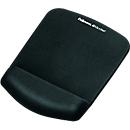 Mauspad-Handgelenkauflage Fellowes PlushTouch, rutschfest, ergonomisch, schwarz