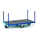Meerprijs voor ruitvormig geplaatste wielen, om makkelijk ter plaatse te draaien